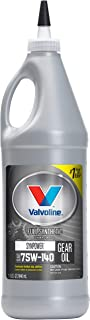 Valvoline SynPower SAE 75W-140 Full Synthetic Gear Oil 1 QT