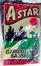 Astar Disposable Garbage Trash Waste Dust Bin Bags (19x21 Inches, Red) -150 Pieces
