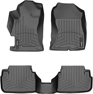 WeatherTech Custom Fit FloorLiner for Crosstrek/Impreza - 1st & 2nd Row (Black)