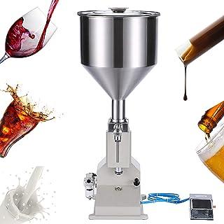 سيكيتر نسخة مطورة من آلة التعبئة اليدوية 20-110 مل، ماكينة تعبئة الزجاجات مناسبة لملمِّع الشفاه ولوشن ومستحضرات التجميل (P...