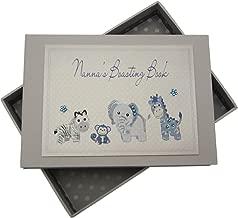White Cotton Cards Nanna's Boasting Book Tiny Photo Album Toys Range (Blue)