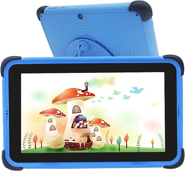 Tablet per bambini 7 pollici tablet bambini android 10 ips hd display 2gb+32gb wifi bluetooth B08D32T59X