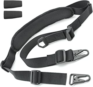 Tactical Hero 2 Point Rifle Sling - Fits Any Gun, Easy Length Adjuster, Shoulder Pad, 30