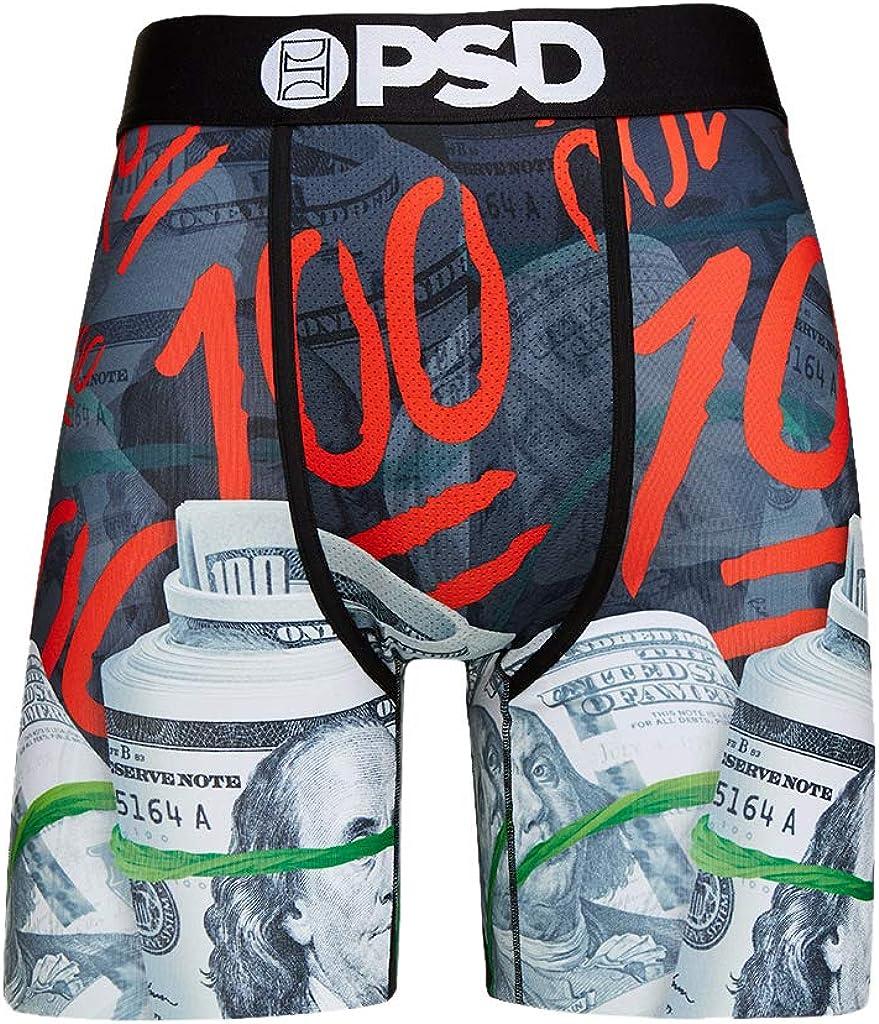 PSD Men's Brief Underwear Bottom (Green/Keep it 100, M)