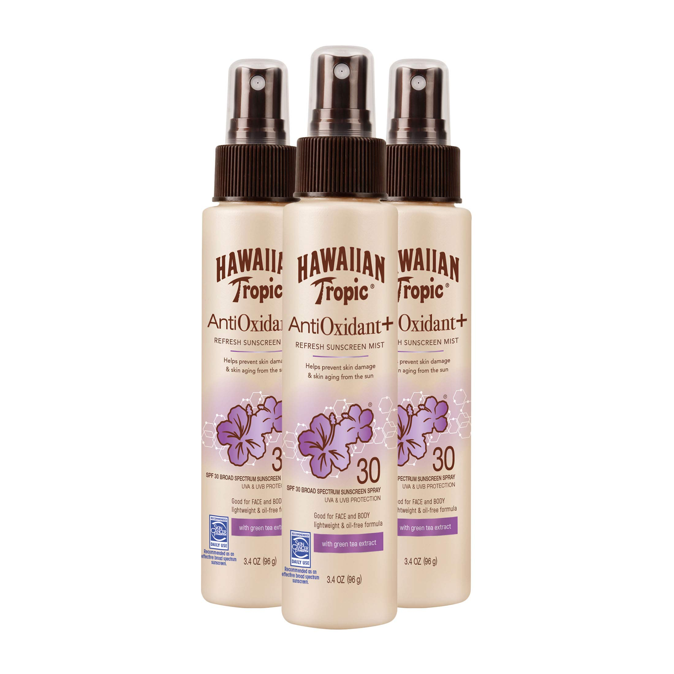 Hawaiian Tropic Antioxidant Sunscreen Extract