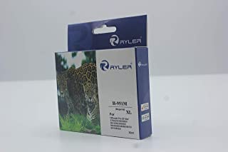 Ryler compatible Ink Cartridges for HP HP951XLM XL-Magenta