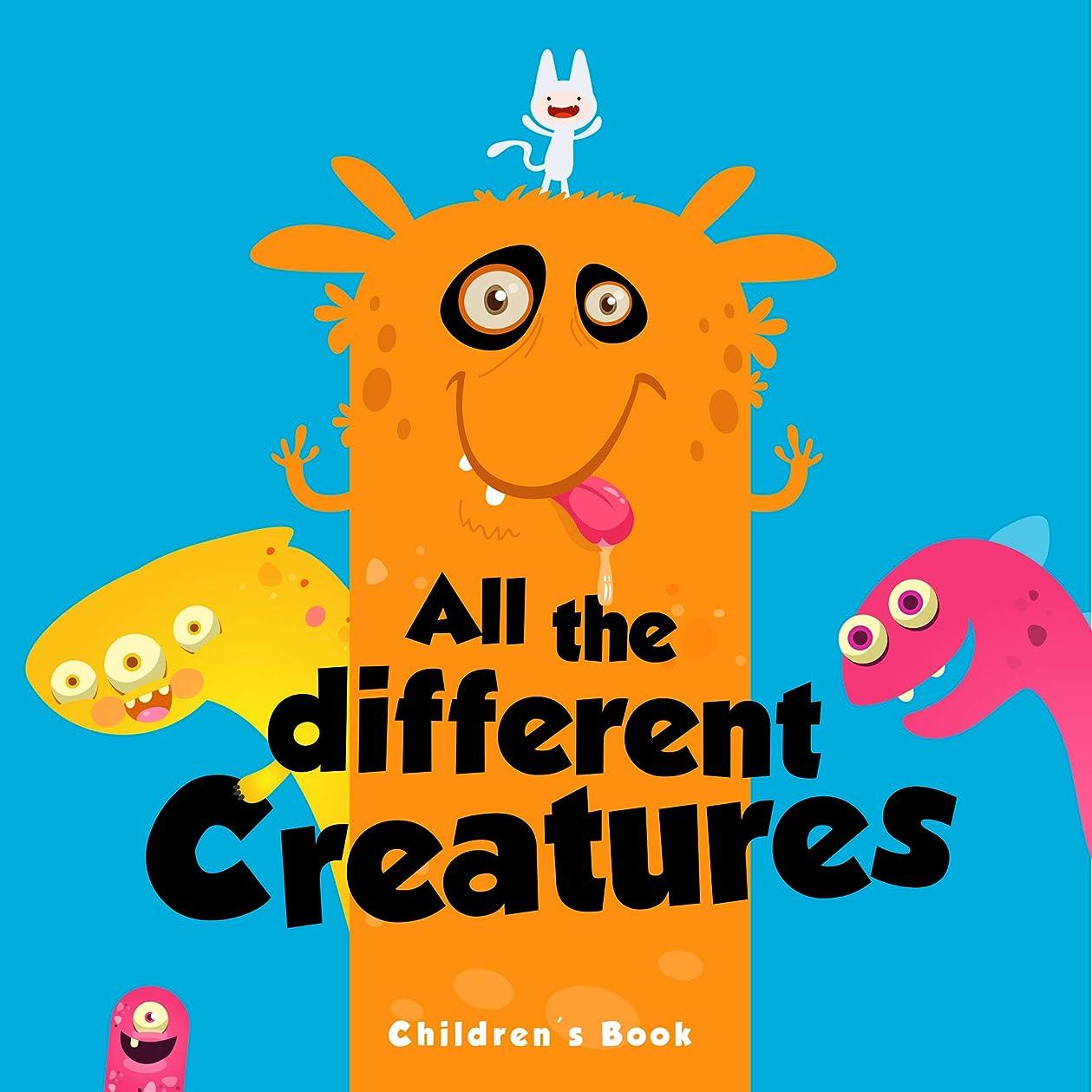 倍率カタログ偏差Children's Book: All the Different Creatures: childrens books - Picture Book for Beginner Readers (English Edition)
