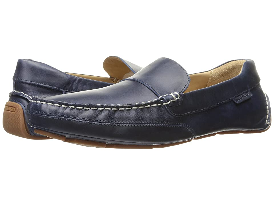 Sebago Kedge Venetian (Navy Leather) Men