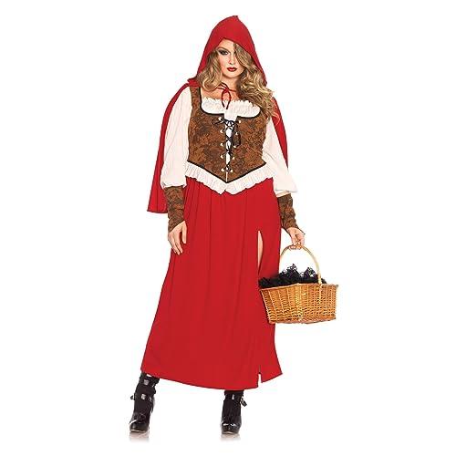 fdebb91c9db Leg Avenue Women s Plus-Size Woodland Red Riding Hood Costume