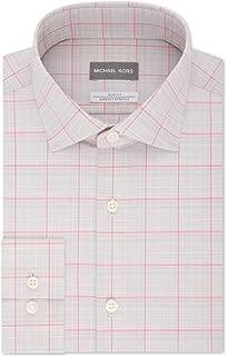 Mens Dress Shirt Slim-Fit Non-Iron Airsof