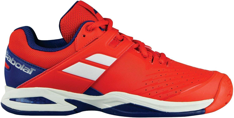Babolat Propulse AC Junior Tennis Shoe (Red/Blue)