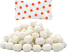 Orange Big Dots Buttermints, Mint Candies, After Dinner Mints, Butter Mint Candy, Fat-Free, Kosher OU-D, Individually Wrap...