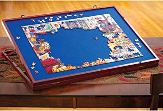 Bits and Pieces - Puzzle Expert Tabletop Easel - Non-Slip Felt Work Surface Puzzle Table Accessory to Put Together Your Jigsaws