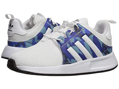 adidas Originals Kids X_PLR EL I (Toddler) (White/Blue/Black) Kids Shoes