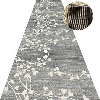 Non-Slip Carpet YANZHEN Hallway Runner Runner Rugs Stair Mat Soft Moisture Proof Blended Fiber 6mm Thick Cutable Wear-Resi...