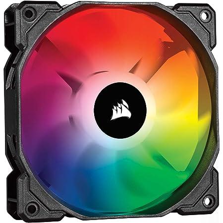 Corsair iCUE SP120 RGB PRO, 120mm LED RGB, Silencieux, Flux d'air élevé, Ventilateur de Refroidissement (Single pack)