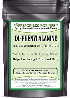 Phenylalanine (DL) - Crystalline Amino Acid Combination of D- & L-Phenylalanine, 12 oz