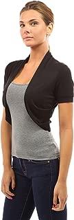 Best black short sleeve bolero jacket Reviews
