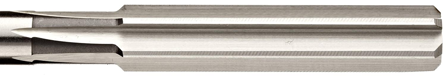 Union Butterfield 4533 High-Speed Steel Chucking Reamer Straight Flute Uncoated 3//16 inch Bright Round Shank