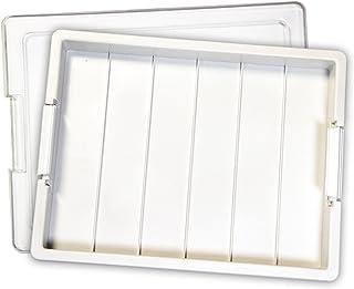 Darice Elizabeth Ward Tray Bead Storage, 1 Pack, White