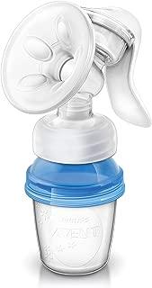 Elektrische Milchpumpe in Premiumqualit/ät von Tillmann/´s Deutschland 2x Handmilchpumpe Aufladbar mit USB Brustpumpe f/ür Neugeborene Handlich