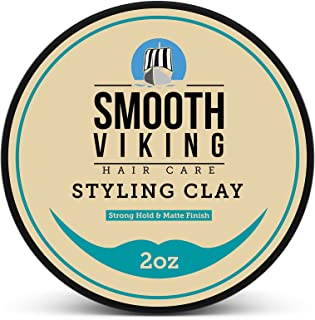 Hair Clay for Men, Best Pliable Molding Cream with Strong Hold & Matte Finish,..