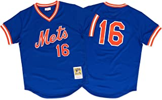 Mitchell & Ness Dwight Gooden New York Mets Authentic 1986 BP Jersey