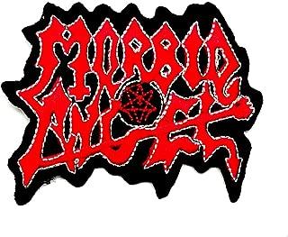 Aruno maison Morbid Angel 1 Rock Band Punk DIY Iron Sew On Embroidered Patch for Denim Jacket Vest Cap