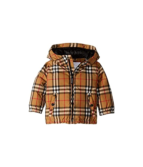 Burberry Kids Rio Check Jacket (Infant/Toddler)
