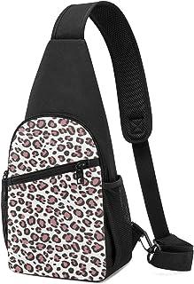 Cheetah Print - Mochila bandolera con estampado de leopardo, ligera, para el hombro, bolso bandolera, para viajes, senderi...