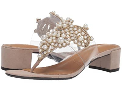 J. Renee Jonette (White Pearl/Beige) Women