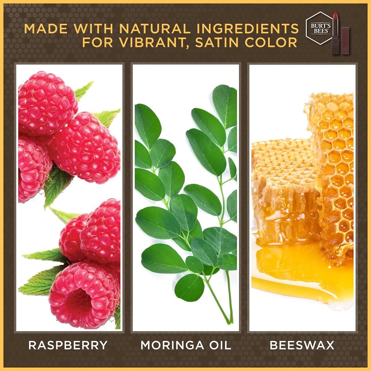 Burt's Bees 100% Natural Moisturizing Lipstick, Russet River, 1 Tube