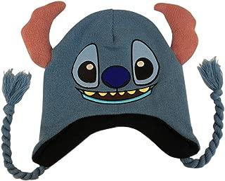 Disney Mens Lilo & Stitch Winter Beanie Winter Beanie One Size Blue