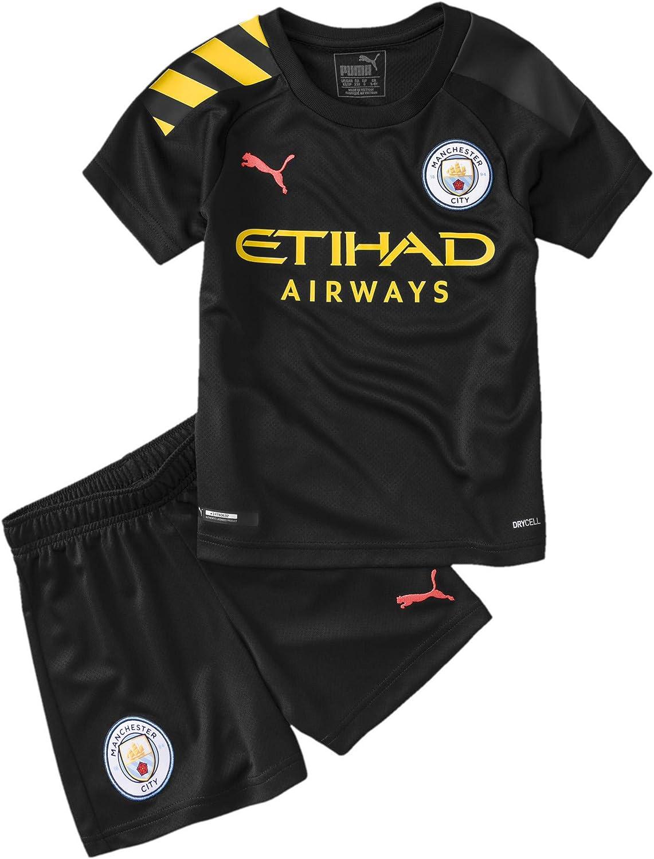 Puma Man City Kids Away Replica Mini Kit Amazon Co Uk Clothing