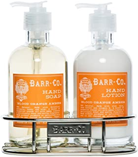 Barr Co Blood Orange Amber Hand & Body Duo with Caddy by k hall designs