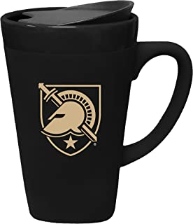 The Fanatic Group West Point Mules Porcelain Mug with Swivel Lid, Design 1