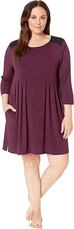 Plus Size Classic Jersey Sleepshirt