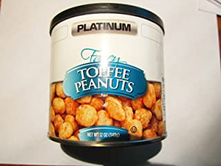 Toffee Peanuts PLATINUM 12 OZ Gourmet Can