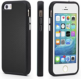 Sponsored Ad - CellEver Compatible with iPhone 5/5s/SE (2016 Edition) Case, Dual Guard Protective Shock-Absorbing Scratch-...