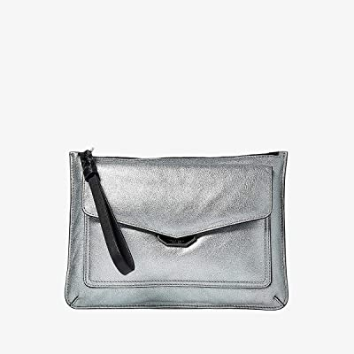 rag & bone Field Wristlet Puffer (Aluminum) Handbags