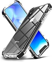 EFFENX iPhone Xs Case iPhone X Case Clear Hybrid TPU Hard Cover with Thin Shockproof Bumper Protective Case for iPhone Xs/X 5.8'' (Black)