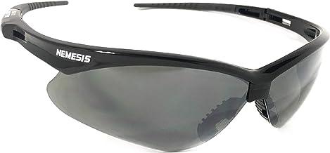 Óculos Proteção Nemesis Preto FUME ESPELHADO Esportivo AIRSOFT Teste Balístico Paintball Resistente A Impacto Ciclismo VOL...