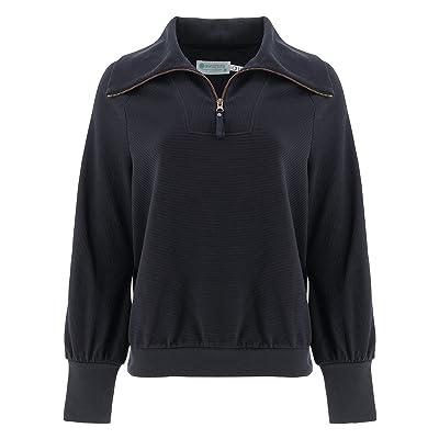 Aventura Clothing Hazelton Zip Neck Top