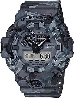 Men's G-Shock GA700CM-8A Matte Grey Rubber Japanese Quartz Sport Watch