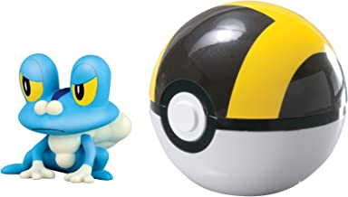 Pokémon Clip & Carry Poké Ball Froakie + Ultra Ball (Discontinued by manufacturer)