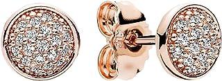 Pandora Women's Rose Gold Dazzling Droplets Stud Earrings - 280726CZ