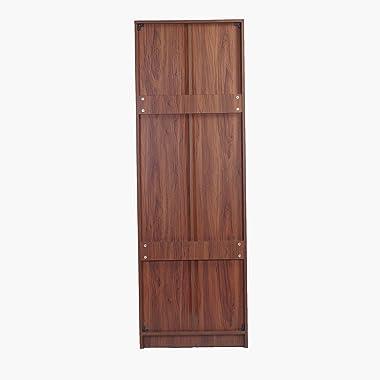 Eros Classic Engineered Wood Display Cabinet Cum Book Shelf