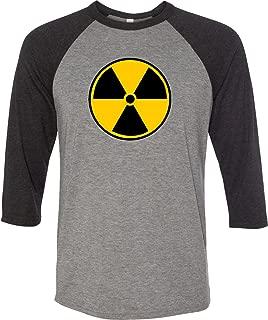 Buy Cool Shirts Radiation T-Shirt Radioactive Fallout Symbol Raglan