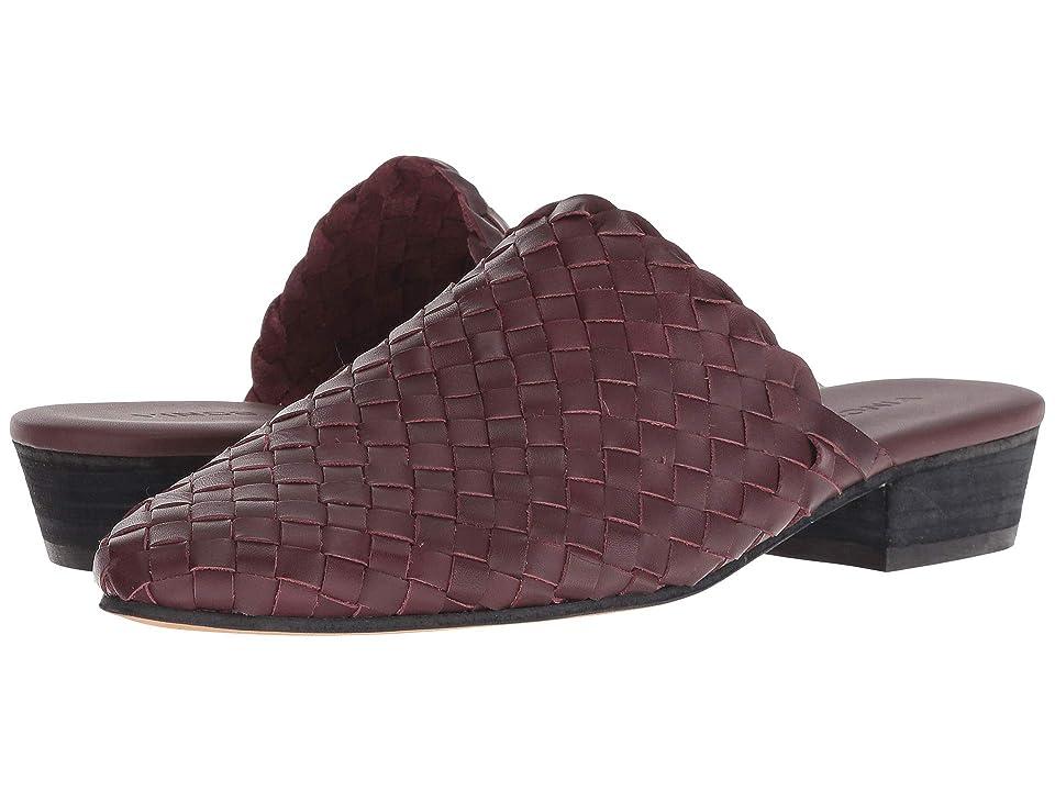 Vince Galena (Bordeaux Soft Weave Leather) Women