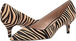 New Nude Safari Zebra Brahma Hair